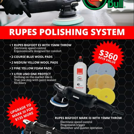 New Rupes Polishing System is Here!