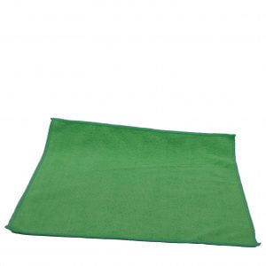 Small Green Towel