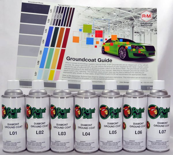 Paint Bull Ground Coat with Flyer