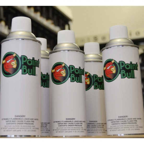 Paint Bull pre mix aerosol Diamont paint