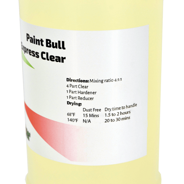 Paint Bull Express Clear Close up
