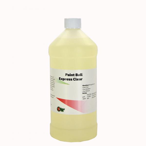 Paint-Bull-Express-Clear-Quart-Bottle