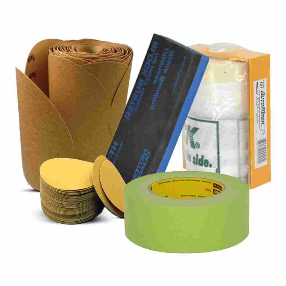Sandpaper and Masking Tape